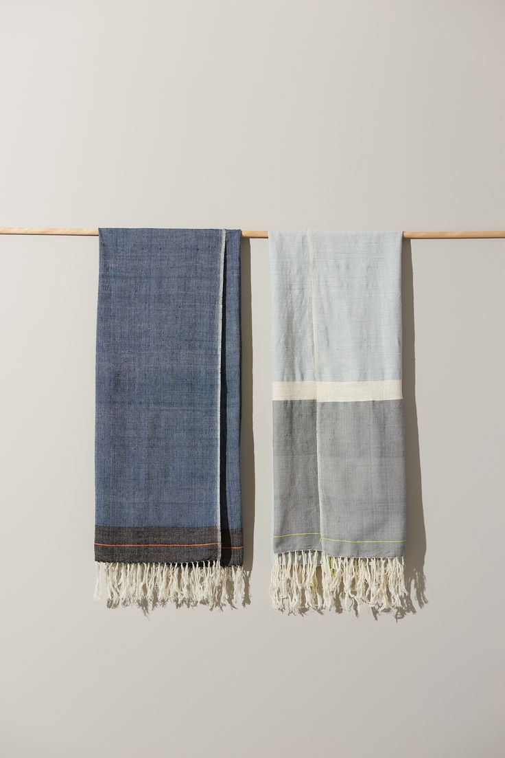 The focus on simplicity and raw material purity in this collection of Ethiopian towels enables the creation of unique, richly textured, and high-quality textiles that only get better with use. Cotton production is an important sector in Ethiopia and the livelihoods of the artisans we work with.