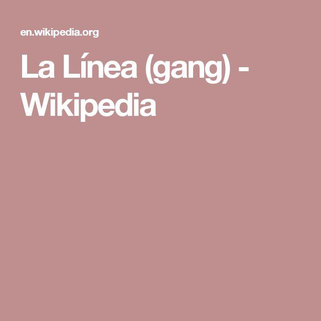 La Línea (gang) - Wikipedia
