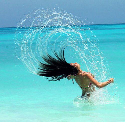 Girl,Hair,Sea,Ocean,Beach,Water,Summer,Shiwi