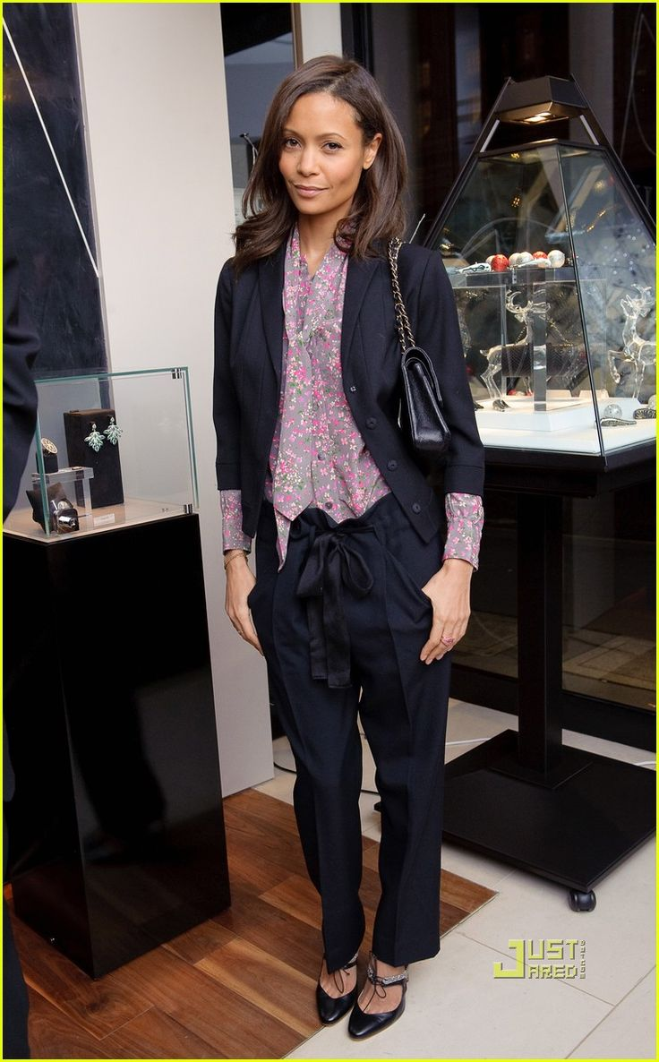 thandie newton. my age. looking impeccable.