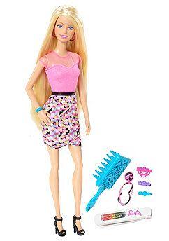 Pop Barbie regenbooghaar