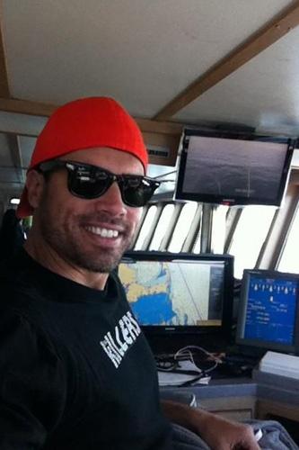 Joshua takes the OCEARCH captain's chair. #YR #SeaCaptin