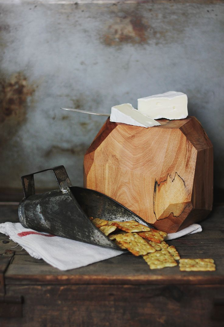 DIY Wooden Geometric Cheese Block @The Merrythought