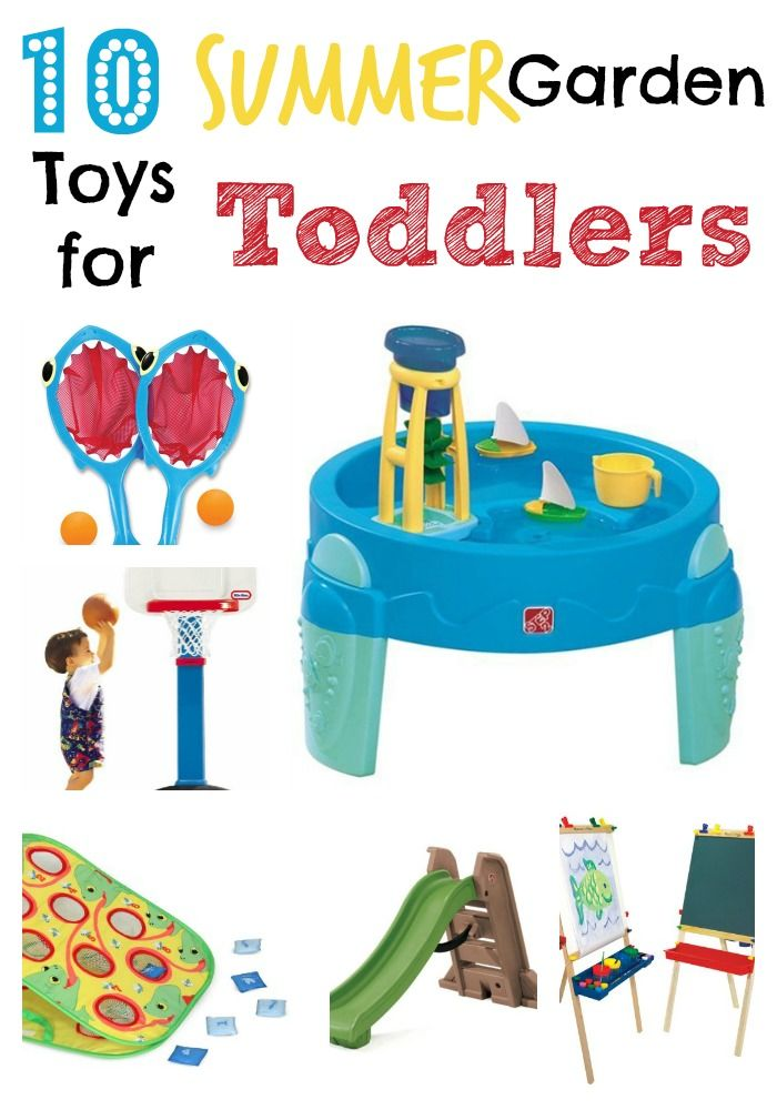 Toddler Summer Garden Toys - Keep your little ones happy and busy this Summer!