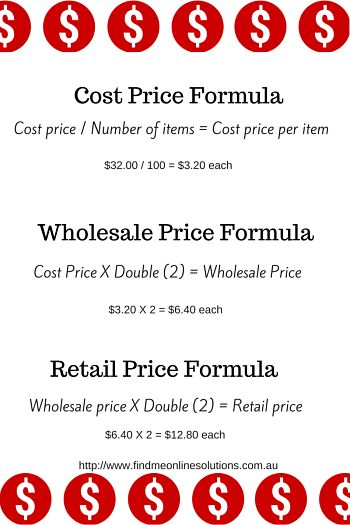 price calculations for purchased items
