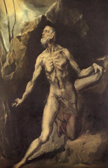 St. Jerome — El Greco   biblioklept