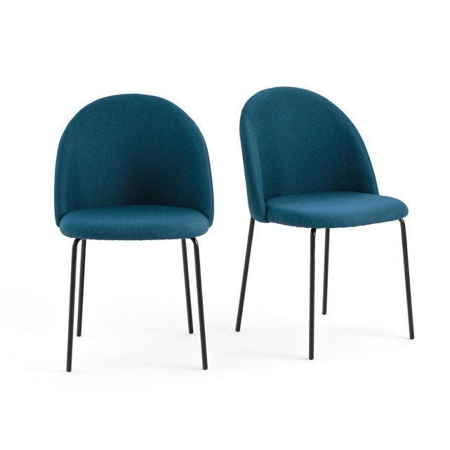 Lot de 2 chaises NORDIE | Salle à manger en chêne, La