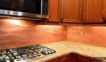31 Ideas Kitchen Backsplash Copper Tile For 2019 In 2020 Copper