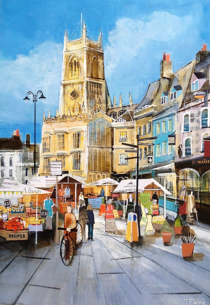 Cirencester - Tracey Elphick Mixed Media Artist Cirencester