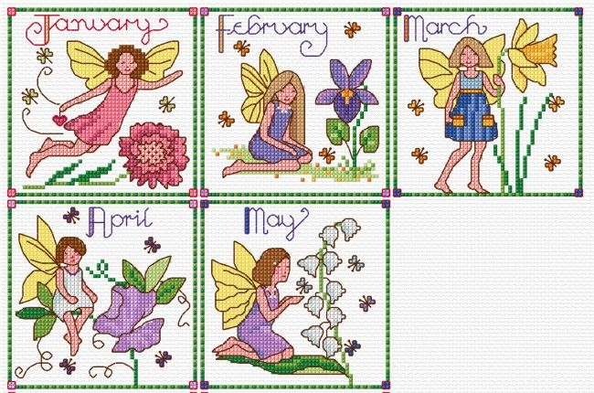 The fairy charts on my BLOG | Lesley Teare Thoughts on Design