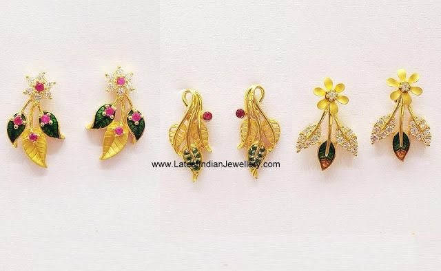 Lightweight Gold Earrings