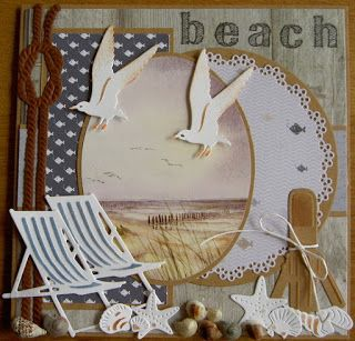Jacqueline                               : Beach   Voor deze maand mag ik gastdesigner zijn b...
