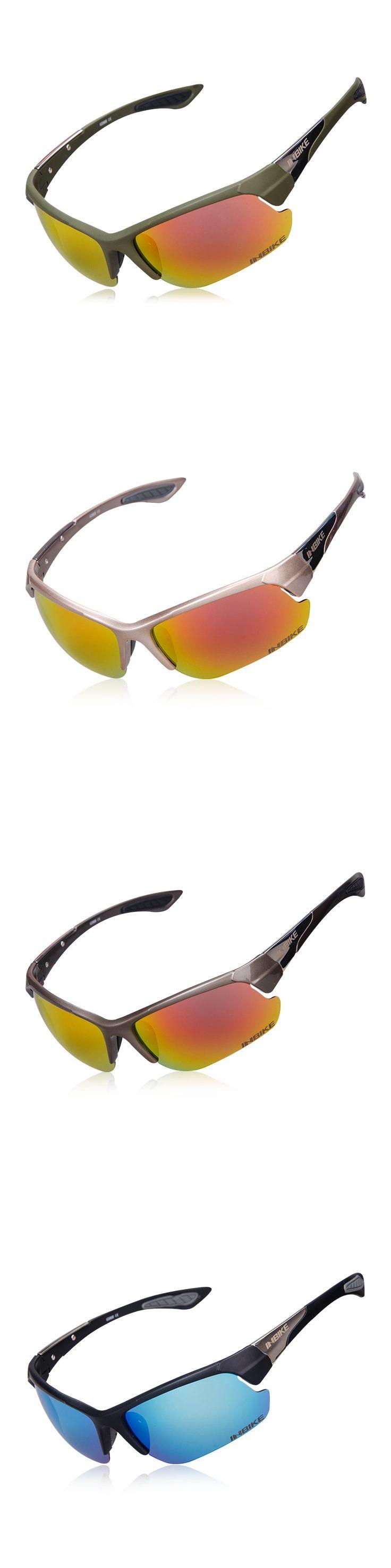 Inbike Cycling Eyewear Wind Proof Glasses Outdoor Polarized Lens Sunglasses Cycling Equipment Ride Bike Glasses Antiskid Eyewear