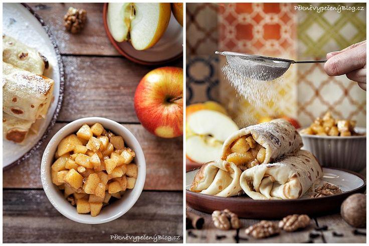 Palačinky s jablky