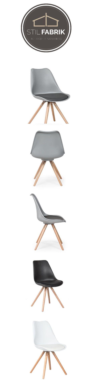 Esszimmer Stühle Leder Schwarz Blume. Trend Stuhl, Grau #Wohnzimmer  #Esszimmer#Küche