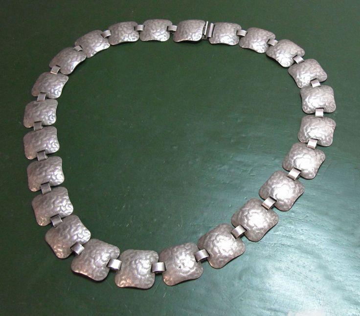 Schönes altes WMF IKORA-COLLIER / Halsband • gehämmert