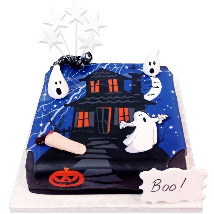 Spooky Night Cake-Halloween Party Cakes. Made fresh and free UK delivery within 48 hours. See our huge choice of cakes to buy online.