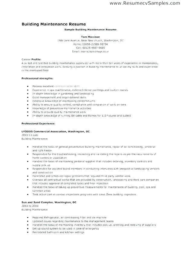 sample janitor resume janitorial resume objective janitor