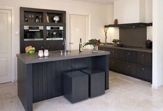 Zwart Grijs Keuken : Grijze keuken zwart blad referenties op huis ontwerp interieur