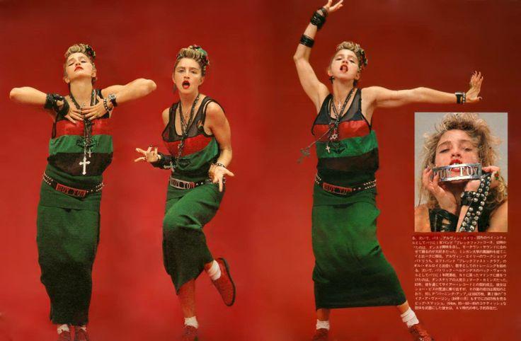 Rare Madonna images from Japan in 1985.  #madonna #madonna80's #madonnajapan
