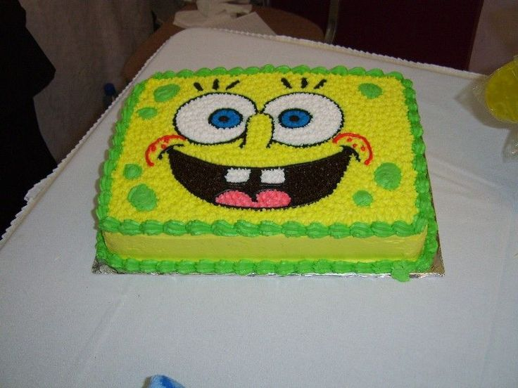 Spongebob Squarepants Birthday Cake Walmart
