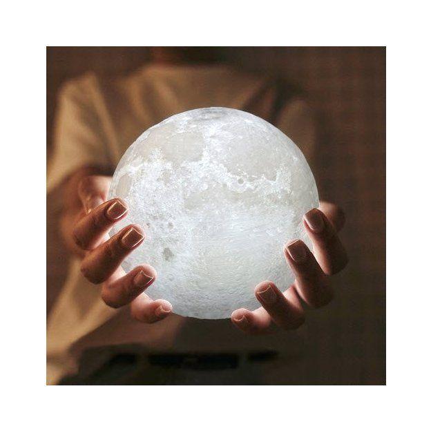 Mond Lampe LED mit Dimmfunktion   geschenkidee.ch in ...