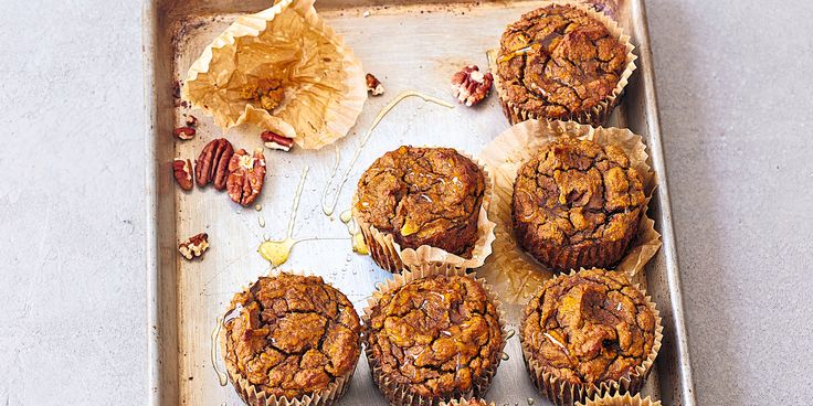 These Pumpkin Muffins can be made in a big batch so you can store them in the freezer and thaw them as you need.