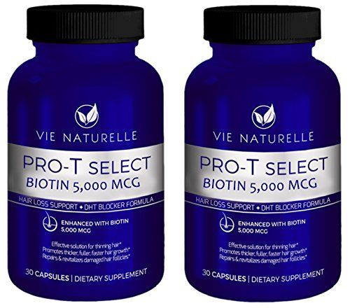 Introducing Vie Naturelle Biotin For Hair Growth 5000 MCG  Super Potency Hair Loss Vitamins 60 Day Supply. Great Product and follow us to get more updates!