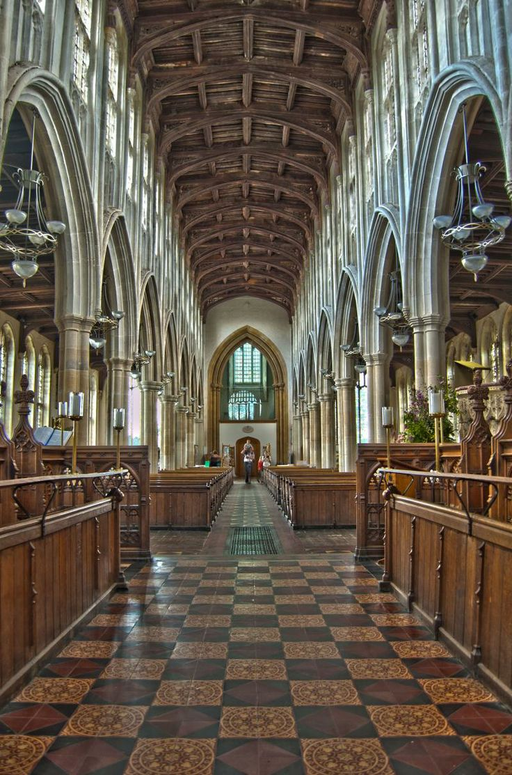 Holy Trinity Church, Long Melford, Suffolk (UK) - HDR Composite of three hand held shots - This was one of my first attempts at HDR. #photographytalk #church