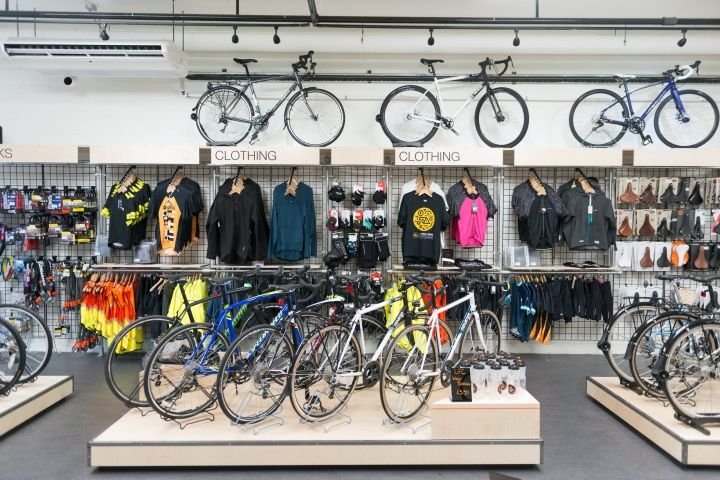 1000 images about cool creative bike shop ideas on for Motorized bicycle repair shop