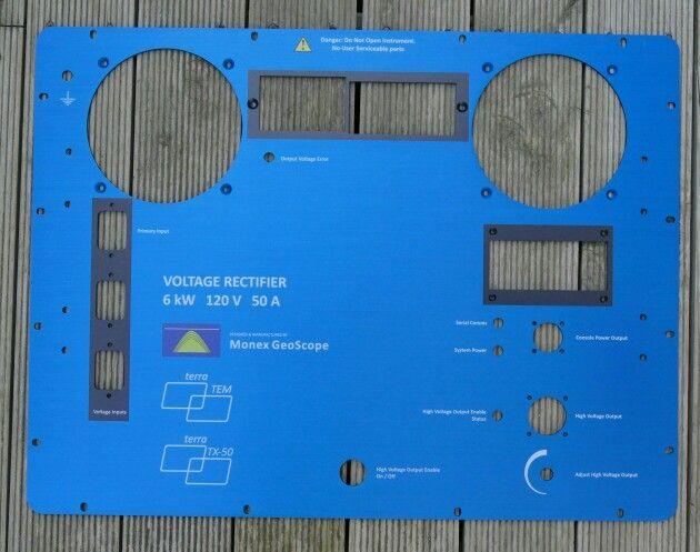 Instrment panel Printed anodised aluminium MyChoice@Firebridge