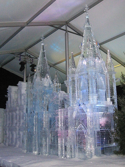 Made of Ice Cathedral , I would like to know who made this & what part of the world this is ? .