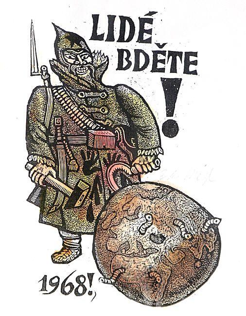 Zdeněk Mézl - Kolorované dřevoryty ::: V ::: Galerie ART Chrudim