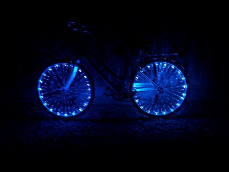 How to light up your bike using led string lights. Teaching the Young ns Pinterest Biking ...