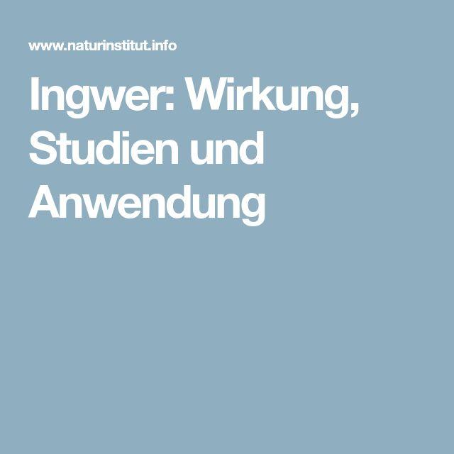 Ingwer: Wirkung, Studien und Anwendung