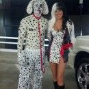 101 Dalmatians Couple Costume
