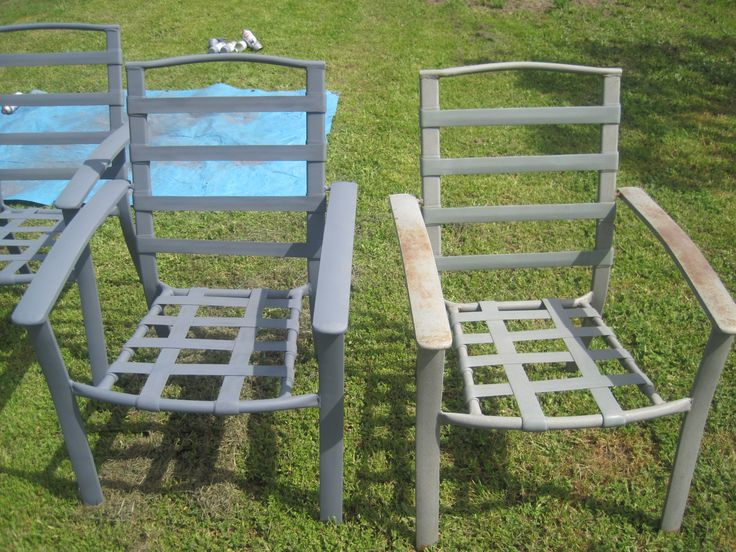 Spray Paint Patio Furniture - Best Way to Paint Furniture Check more at http://cacophonouscreations.com/spray-paint-patio-furniture/