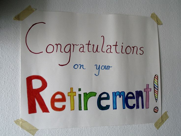 Best Retirement Wishes!: It is now time for you! We will miss you and ...