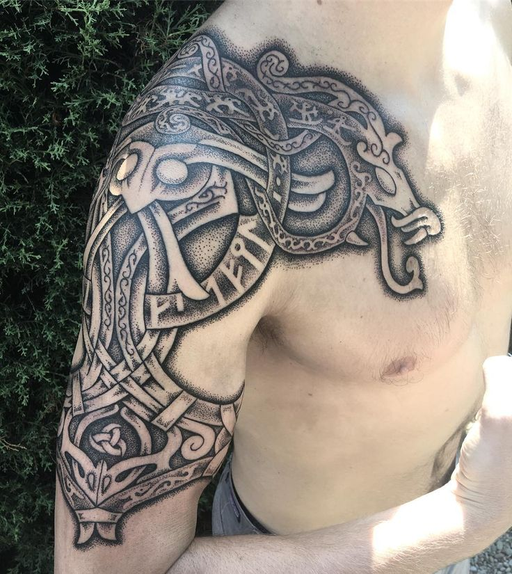 Viking Tribal Tattoos: Norse Tattoo, Celtic Tattoos