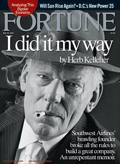 Southwest and Leadership - Southwest's Herb Kelleher: Still crazy after all these years