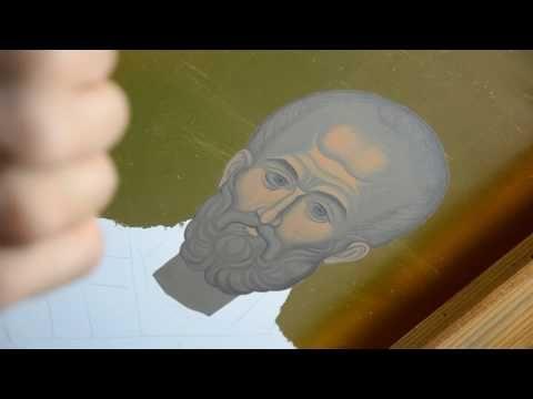 Иконопис - Свети Никола 03 - YouTube