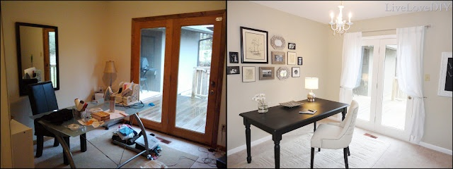 Remodelaholic » Blog Archive Home Office Makeover » Remodelaholic