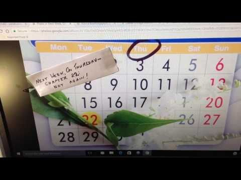 Next Week, On Thursday:  Chapter 22  - Not Again! - YouTube