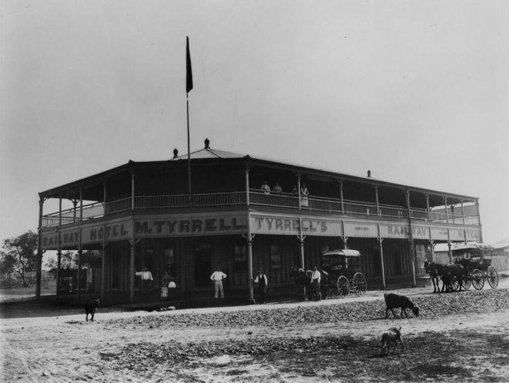 Railway Hotel in Cairns, Queensland, ca. 1901