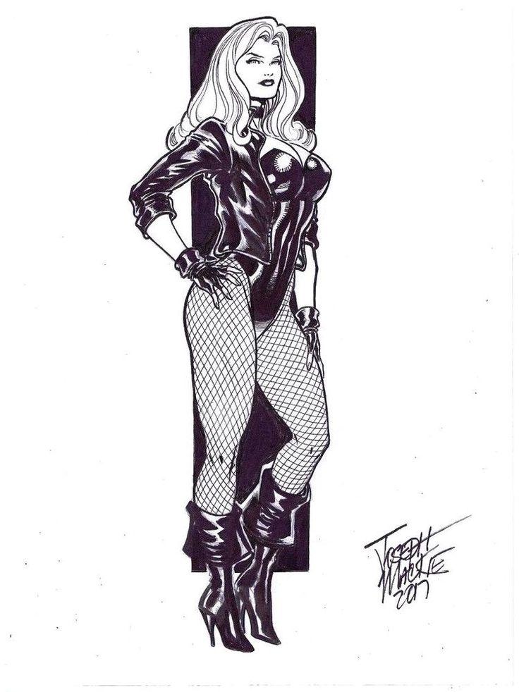Black Canary by Joseph Mackie