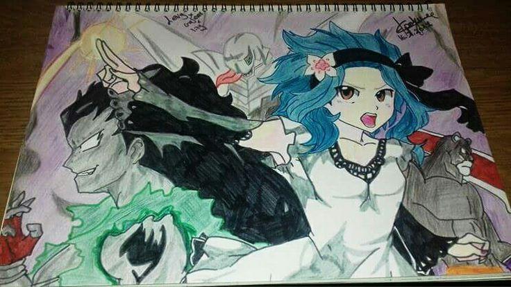 Gajeel X Levy X Lily 😀😘 ~ Fairy tail ~  My Arts Evangelist