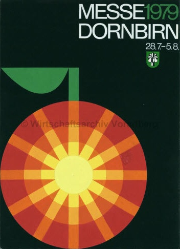 By Othmar Motter (Vorarlberger Graphik), 1979, Dornbirn exhibition.