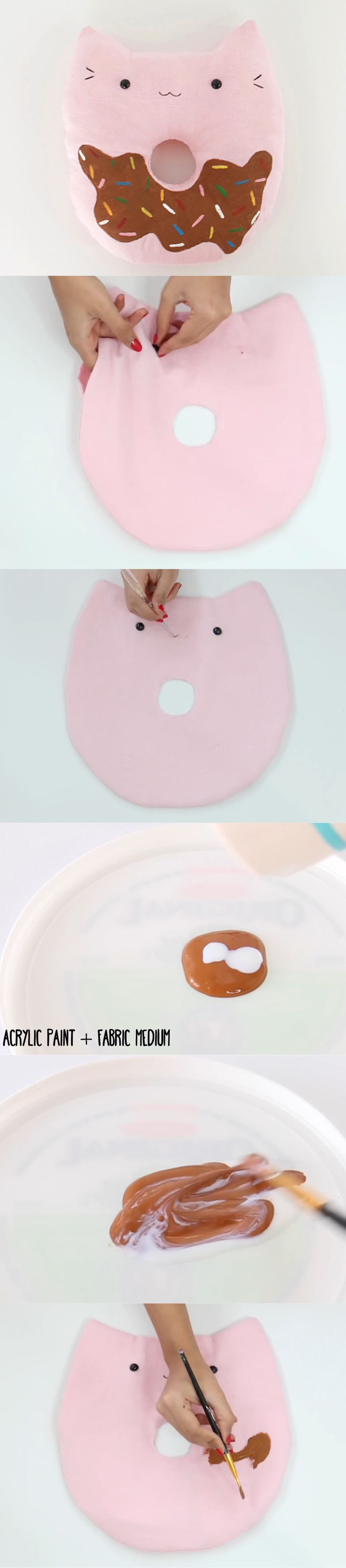 Cat/Donut Pillow Part 3|Nim C