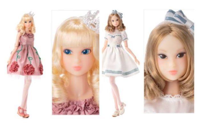 Sekiguchi momoko Doll Shirley Temple WHITE LILY + PINK ROSIE dress  F/S #Momoko #DollswithClothingAccessories