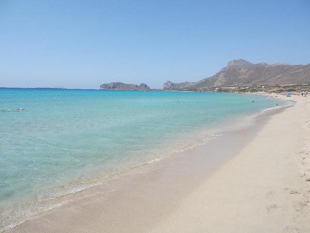 Falasarna beach (Crete, Greece)